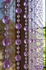 Beaded Curtains With Pictures Purple Beaded Curtains That Bohemian