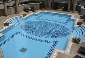 Luxury Pool Design - swimming pool tiles designs glass tile swimming pool designs