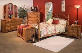 amish classic heritage bedroom set
