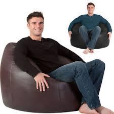 man size beanbag xxl bean bag chair huge bags ebay