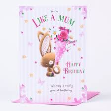 birthday card like a mum only 89p
