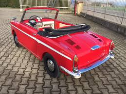 autobianchi 1962 autobianchi bianchina cabriolet u201ceden roc u201d coys of kensington