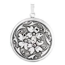 Locket Ornament Sterling Silver Lockets Lockets