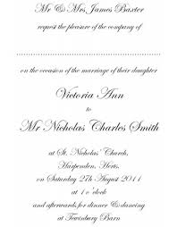 wedding invitation language standard wedding invitation wording wedding ideas