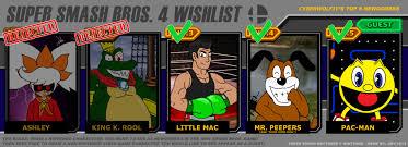 Smash Bros Memes - super smash bros 4 wishlist meme by theguy07 on deviantart
