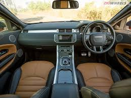 Evoque Interior Photos 2016 Range Rover Evoque Review Zigwheels