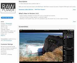 converter raw raw power app brings aperture style interface functions to mac
