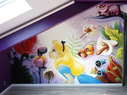 Fresque Chambre Fille by Gimus