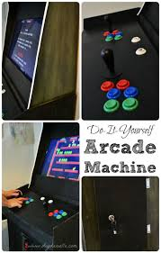 build your own arcade cabinet how to build a custom arcade machine diy danielle