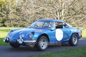 renault alpine classic sold renault a110 alpine 1300 coupe lhd auctions lot 31