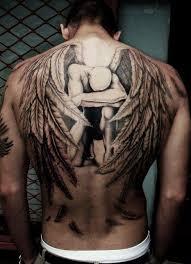 large bald back design guardian tattoos