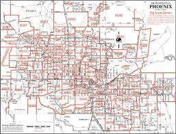 Maps Phoenix Map Of Phoenix Zip Codes Afputra Com