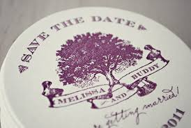 save the date coasters buddy s coaster save the dates leslie design