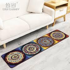teppich k che cigi moderne folk style fashion lange matte schlafzimmer