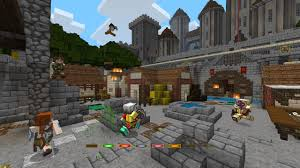 minecraft siege minecraft battle map pack 2 on ps3 official playstation store uk