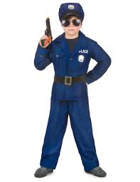 deluxe policeman costume for boys kids costumes and fancy dress