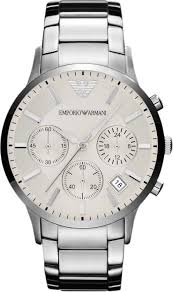 armani watches bracelet images Emporio armani sportivo ar2458 watch with cream dial for men jpg