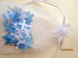 baptism decorations ideas for boy 200 white and blue cross confetti baptism decorations boys