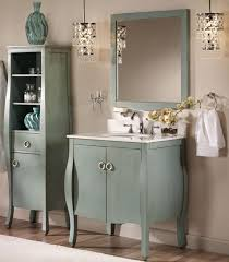 Mirrored Bathroom Accessories - bathroom cabinets country style bathroom vintage mirrored