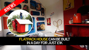 Flat Pack Homes Usa by Step Inside The Flat Pack Home Which Costs Less Than 1 000 And