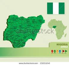 map of nigeria africa nigeria map vector stock images royalty free images vectors