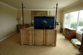 tv lift cabinet foot of bed catalan 3 door tv lift cabinet with lift cabinet tronix