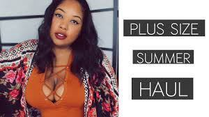 plus size summer 2016 collective haul first time shopping at wet