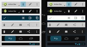 android bar android 4 0 widgets antetype
