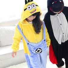 halloween pajamas for kids new unisex kids children costume minions vampire bat cosplay anime animal onesie sleepwear halloween pajamas free jpg