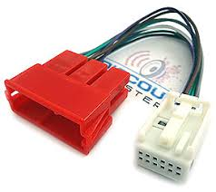 aa2 har 12 pin quadlock to 8 pin iso adapter cable for audi and vw