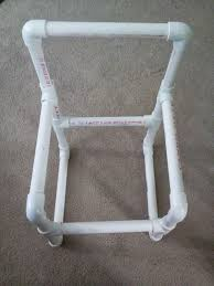 furniture simple diy pvc pipe chairs with white pipe frame ideas