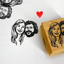 Personalized Gift Ideas Personalized Gifts For Couple Custom Portrait Stamps Self