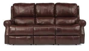 Leather Recliner Sofa Reviews Flexsteel 1533 62 Flexsteel Crosstown Leather Reclining Sofa