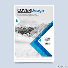 brochure cover presentation abstract flat background leaflet