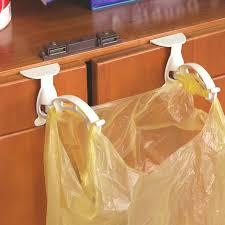 porte sac poubelle cuisine 1 paire d armoires de cuisine poubelle des ordures sacs cintre
