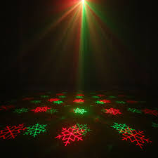 christmas tree laser lights alien remote red green star snowflake outdoor laser light show