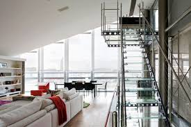 glass penthouse in london by the thames idesignarch interior