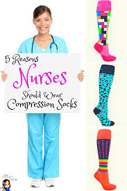 reasons why every nurse should wear compression socks