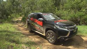 pajero sport mitsubishi test driving the new mitsubishi pajero sport creek to coast