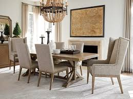tommy bahama dining table cypress point pierpoint double pedestal dining table lexington