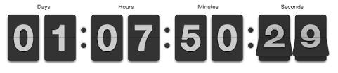 easy javascript jquery countdown clock builder dwuser