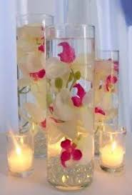 Long Vase Centerpieces by Tall Orchids Centerpiece Can These Go In Water With Floating