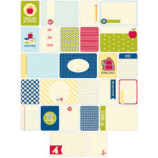 project themed cards 60 pkg school joann