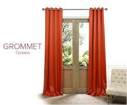 orange grommet curtains grommet curtains orange sheer grommet curtains orange grommet curtains