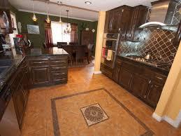 best kitchen flooring ideas countertops backsplash brown tile backsplash