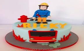 fireman sam birthday cake tesco 1447
