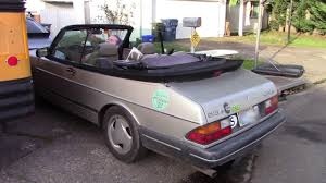 saab 900 convertible the saab 900 convertible top is alive youtube