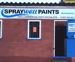 car paint and delivery in worcestershire spraywell paints