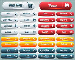 button designer button collection 03 buy upload search button