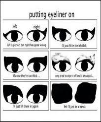 Eyeliner Meme - fml i ll just be a panda eyeliner just stuff pinterest